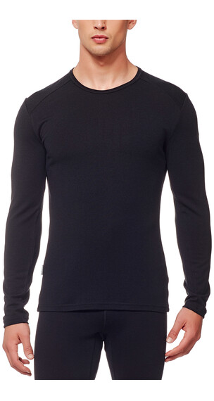 Icebreaker Tech Top LS Crewe Men black/black/black